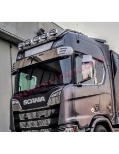 Inox Spiegelkappen Scania Next Gen