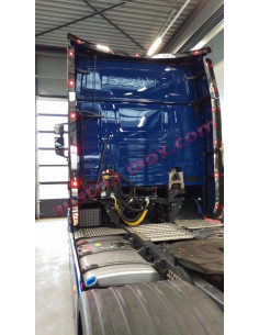 Spoiler Light Applikation Scania Next Gen